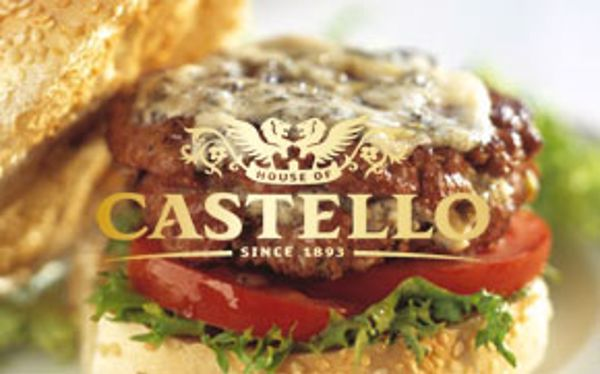 Castello blue cheese burger