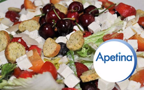 Apetina summer suncatcher salad