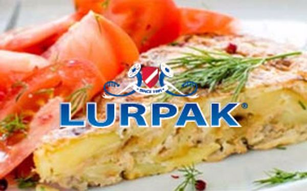 Salmon and dill frittata with Lurpak
